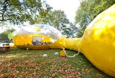 Inflatable Art Pavilion in London