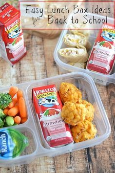Easy Lunch Box Ideas for Back to School | back to school lunches | lunch ideas for back to school | back to school | school lunch | healthy lunch for back to school || Kitchen Meets Girl
