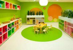 Infant room daycare decorating ideas designing your daycare setup Infant Room Daycare, Daycare Rooms, Home Daycare, Daycare Setup, Daycare Design, Playroom Design, Preschool Rooms, Preschool Classroom, Classroom Decor