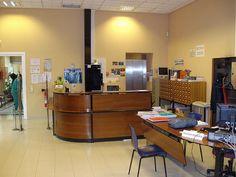 Sala de información bibliográfica y préstamo.