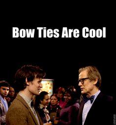 Matt Smith & Bill Nighy love - their interaction in this episode was so adorable! Doctor Love, Doctor Who, Nerd Love, My Love, Bill Nighy, Preppy Men, Don't Blink, Blue Box, Nerd Geek