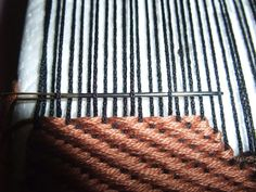 Caveat: I never had any formal training in any form of weaving. This is what I learned from experience and random websites. My main inspiration for weaving was& the website of Marla Mallet, but t… Weaving Loom Diy, Pin Weaving, Card Weaving, Tapestry Loom, Denim Rug, Textile Fiber Art, Yarn Thread, Weaving Projects, How To Make Diy