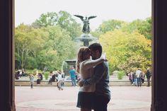 Ensaio fotografico de casal no Central Park • New York Engagement Session • Krisiele Oliveira Photography