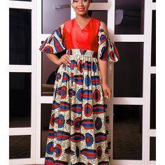 2018 Hot New Ankara Styles for Ladies Robes En Tissu Pagne, Robe Longue,  Africaine 691fa3e0cfa