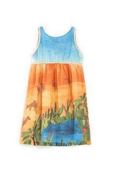 Vestido Oásis - verão 2017