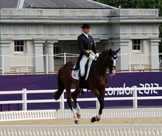 Boyd Martin, aboard Otis Barbotiere ~ 2012 Olympic Eventing Dressage