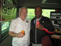 Rosati visits Power 99FM. Philadelphia.