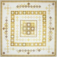 Yellow Patty Lucy by Sandy Klop | American Jane quilt pattern