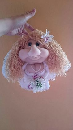 Doll Handmade Bride DIY