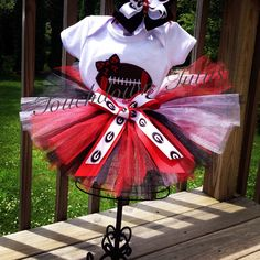 A personal favorite from my Etsy shop https://www.etsy.com/listing/240737882/georgia-tutu-outfit-or-pick-your-team