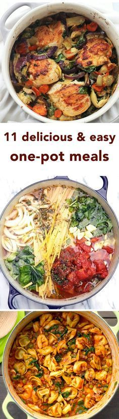 These Delicious One-Pot Meals Are So Simple They Can Almost Cook Themselves - For those of us who weren't blessed with Gordon Ramsay's cooking skills, we don't have to resort to a life of takeout and microwaveable meals. These recipes are gifts from the heavens because they're not only super simple, they also require minimal dishwashing! Wins all around!