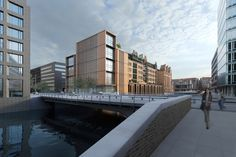 Gebr. Heinemann Headquarters Extension Winning Proposal / gmp Architekten