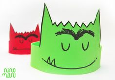 "Crown of ""The Monster of Colors"" - Crown of ""The Monster of Colors"" Happy Monster, Robot Monster, Monster Party, Monster Activities, Monster Crafts, Preschool Activities, Diy Agenda, Crafts For Kids, Arts And Crafts"