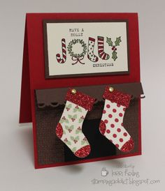 Christmas Card :: Confessions of a Stamping Addict