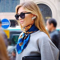 21 Unique Ways to Wear Your Silk Scarf