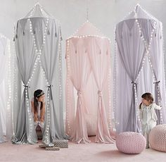 Cotton Voile Play Canopy