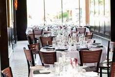 endless table combinations in our large main dining room