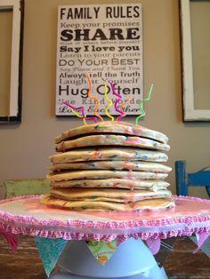 My {Grace Filled} Mess: pancakes & pajamas