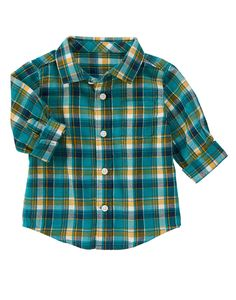 Plaid Shirt at Gymboree (Gymboree 0-24m)