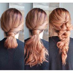 Queremos um penteado despojado, mas também clássico! #paulmitchell