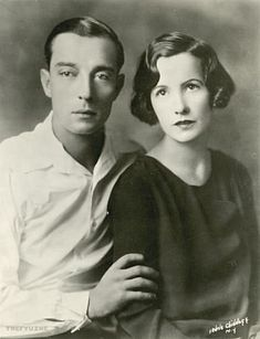 Buster Keaton and wife Natalie