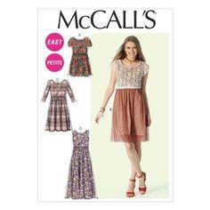 McCalls M6923 Miss Petite Dresses | Spotlight Australia