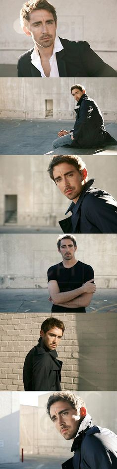 photoshoot of Lee Pace