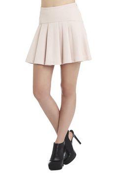 Pleated Flared Skirt   BCBGeneration