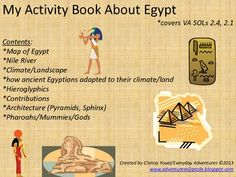 My Book About Ancient Egypt