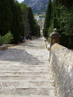 Year of Steps in Pollensa, Mallorca
