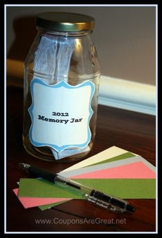 Simple way to record your 2012 memories (super simple)  :)