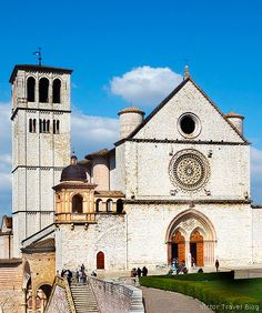 A Holy City in Cappuccino Style, Assisi, Umbria, Italy