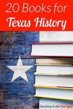 20 books to use while learning Texas history. These books are sure to engage students with facts and stories all about Texas! books Texas History Books: 20 Books to Enhance Your Students' Interests History Classroom, History Education, History Teachers, Teaching History, Classroom Fun, Teaching Class, Future Classroom, Teaching Ideas, History Interactive Notebook