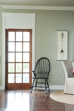 French Door Ivory Trimming | Found On Maillardvillemanor.com