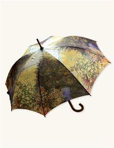 Monet umbrella :) Need a new umbrella. Possibility
