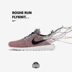 #nike #rosherun #flyknit #rosherunflyknit #baasbovenbaas  Nike Roshe Run Flyknit Red/Grey - Now available online, priced at €129,99  For more info about your order please send an e-mail to webshop #sneakerbaas.com!