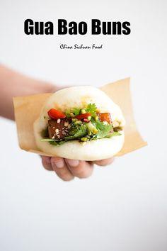 Gua Bao-Taiwanese pork belly buns China Sichuan Food