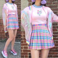 Advice On Buying Fashionable Stylish Clothes – Clothing Looks Hipster Grunge, Grunge Style, Soft Grunge, Pastel Grunge, Kawaii Clothes, Kawaii Outfit, Pink Clothes, Aesthetic Fashion, Aesthetic Clothes