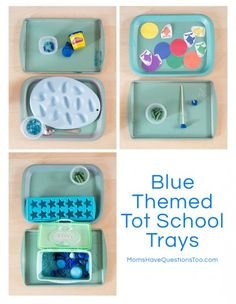 Blue Tot Trays Smiley Man is 26 months old