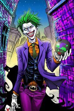 Get yourself ready with the great Joker Costume that will enhance your appearance and give you exact look of your favorite character. Der Joker, Joker Art, Batman Art, El Joker Comic, Joker Pics, Dc Comics, Joker Drawings, Joker Costume, Comic Manga