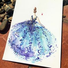 Chan Clayrene Fashion Illustration
