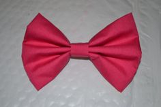 Solid Hot Pink Hair Bow