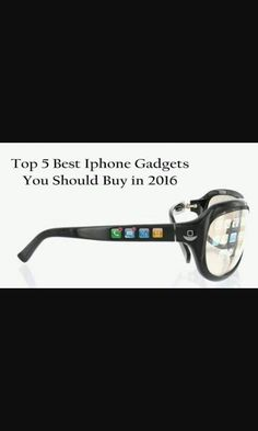 Iphone in glasses