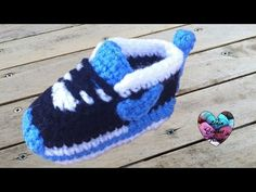Baskets Nike bébé crochet 1/3 / Nike sneakers crochet (english subtitles) - YouTube