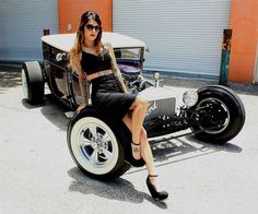 1927 Ford MODEL T Street Rod Girl Click to Find out more - http://fastmusclecar.com/muscle-cars/1927-ford-model-t-street-rod-girl/ COMMENT.