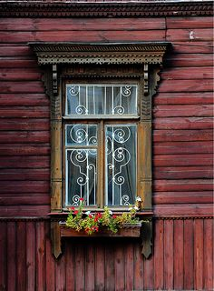 Window in Kiev, Pushcha-Voditsa, Kyiv, Kyiv City Municipality_ Ukraine