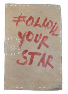 FOLLOW YR STAR notebook