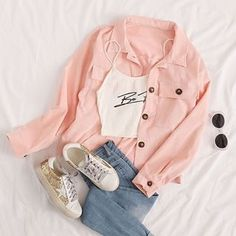 Girls Fashion Clothes, Teen Fashion Outfits, Girly Outfits, Cute Casual Outfits, Outfits For Teens, Pretty Outfits, Stylish Outfits, Really Cute Outfits, Stylish Hoodies