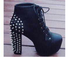 New stylish handmade designers boots platform boots 6