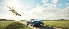 Mercedes-Benz: Mercedes-AMG Magazine – 24 hours with an Air Race world champion. Matthias Dolderer with 300 PS in the air and in the Mercedes-AMG GT 63 S (X with 639 PS on the ground. Mercedes AMG GT S Blue Mercedes Amg Gt S, Day Trip, Champs, Old Things, Racing, Magazine, Lifestyle, World, Blue